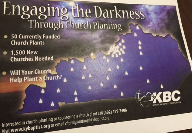 KBC Church Planting Map 2015