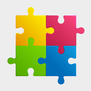FreeColorfulPuzzlePieces